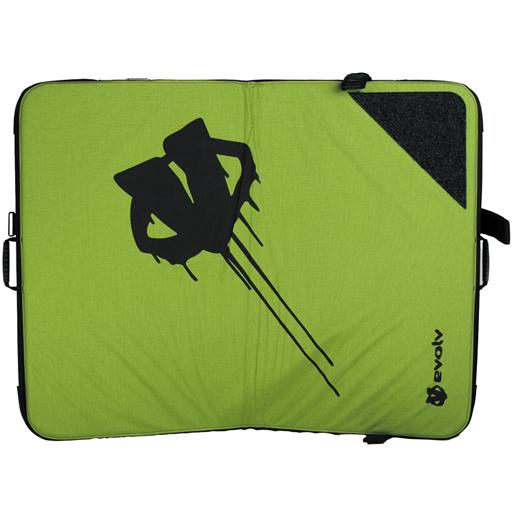 Evolve Iceman Crash Pad (Lime)