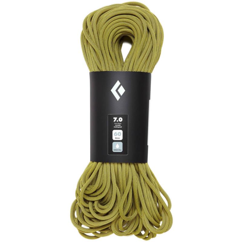 Black Diamond 7.0mm 60m 2xDry Rope