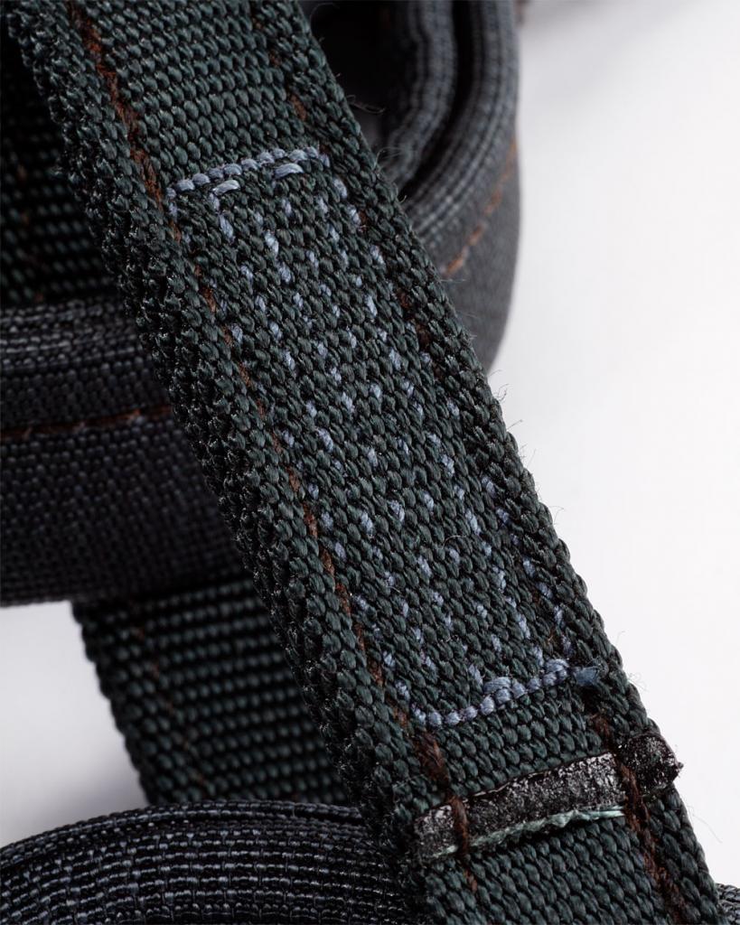 Arcteryx I340a climbing harness belay loop with wear marker