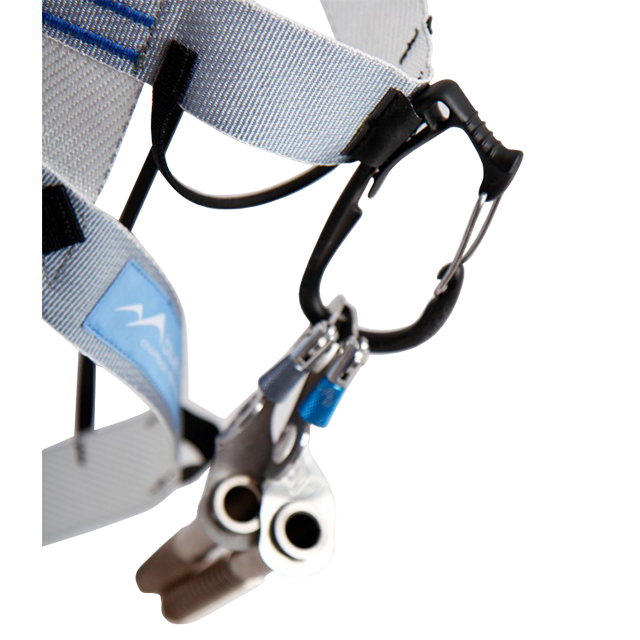 Blue Ice Choucas Climbing Harness Ice Clip Slots