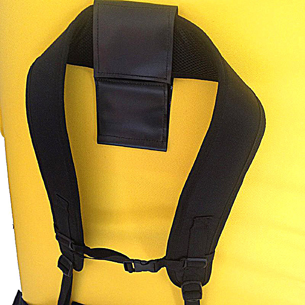 Asana Gunther Superhighball Pad Backpack Strap View