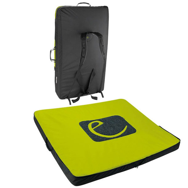 Edelrid Dead Point II Bouldering Pad Back and Open View