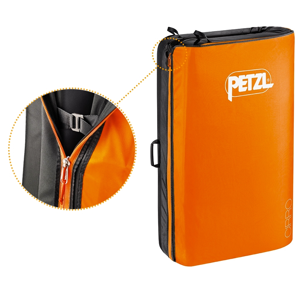 Petzl Alto Crash Pad Zipper Closure
