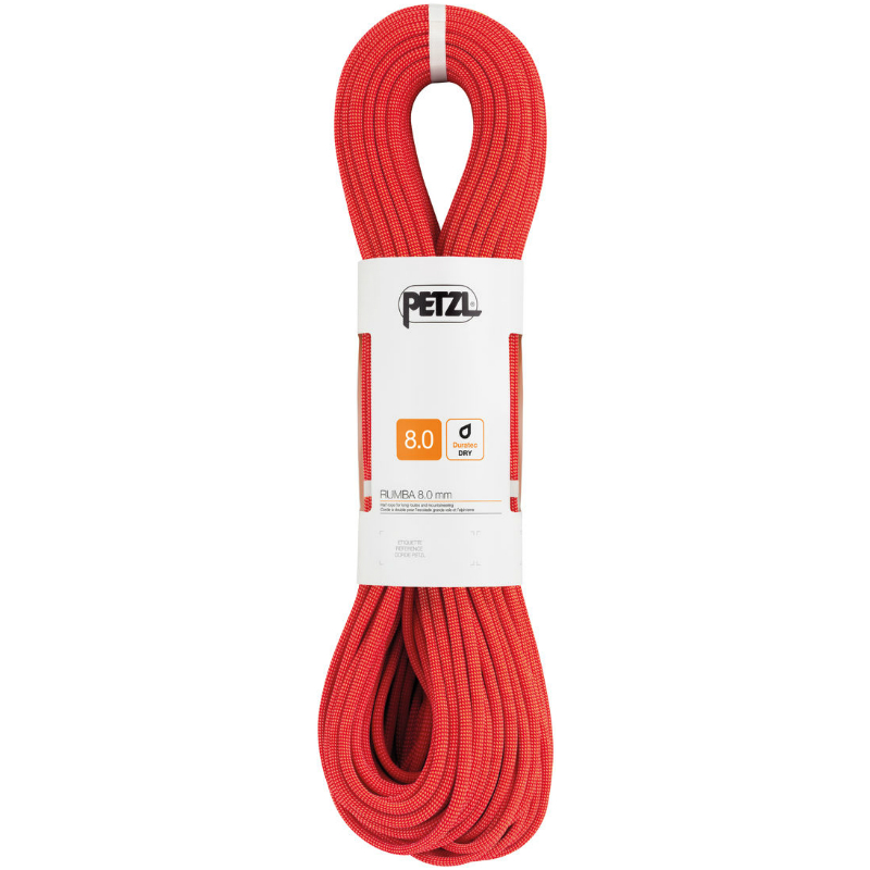 Petzl 8.0mm Rumba Red