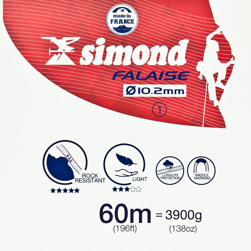 Simond 10.2mm Rope 60m
