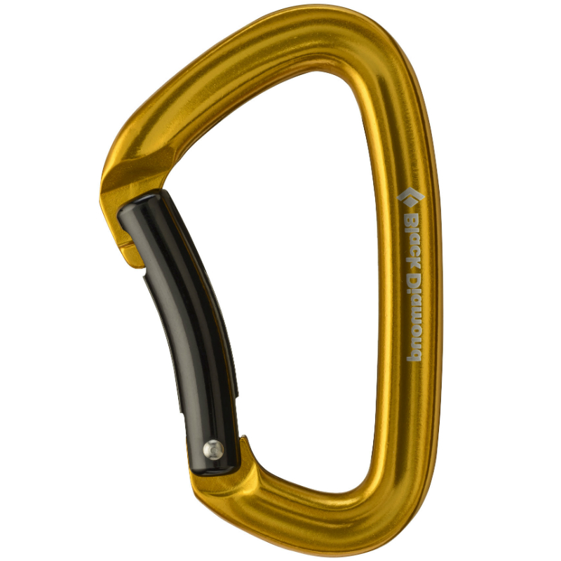 Black Diamond Positron Bent Carabiner