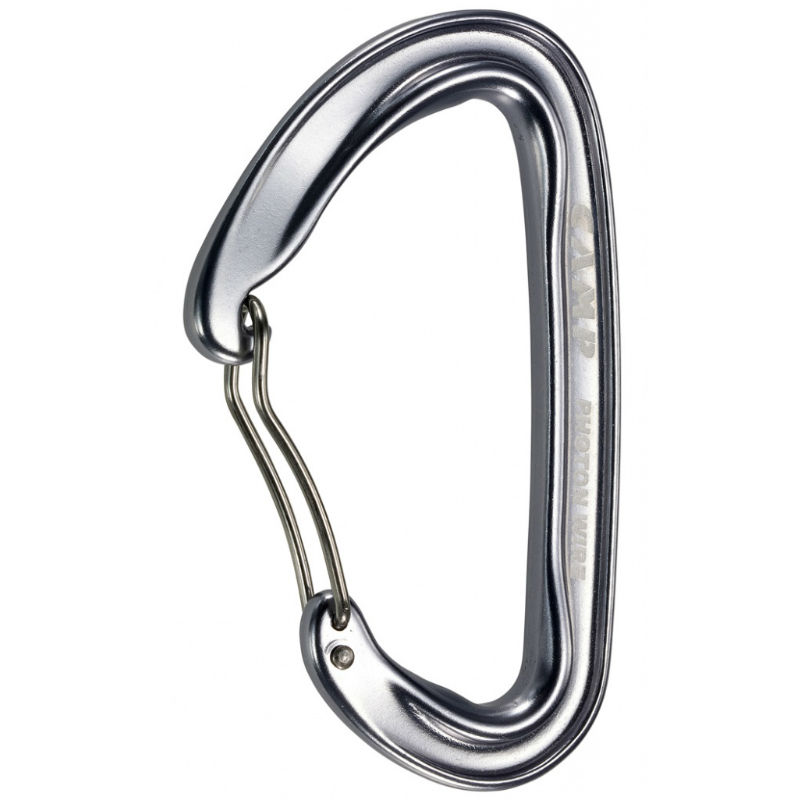 CAMP Photon Wire Bent Gate Carabiner