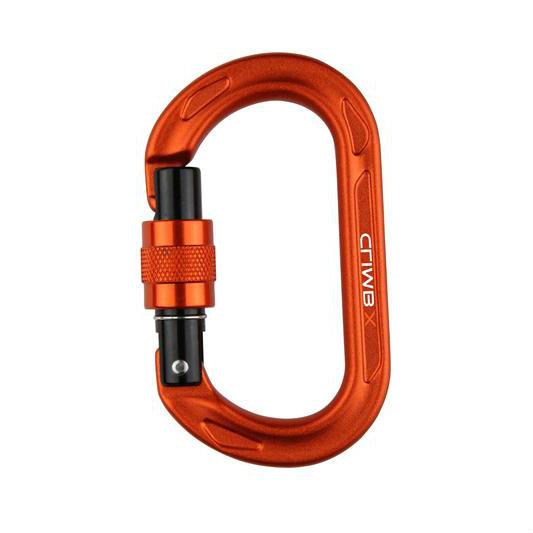 Climb X Oval Auto Lock Carabiner