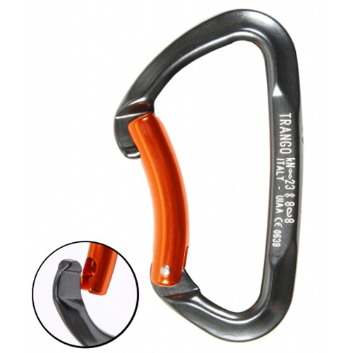 Trango Smooth Bent Gate Carabiner