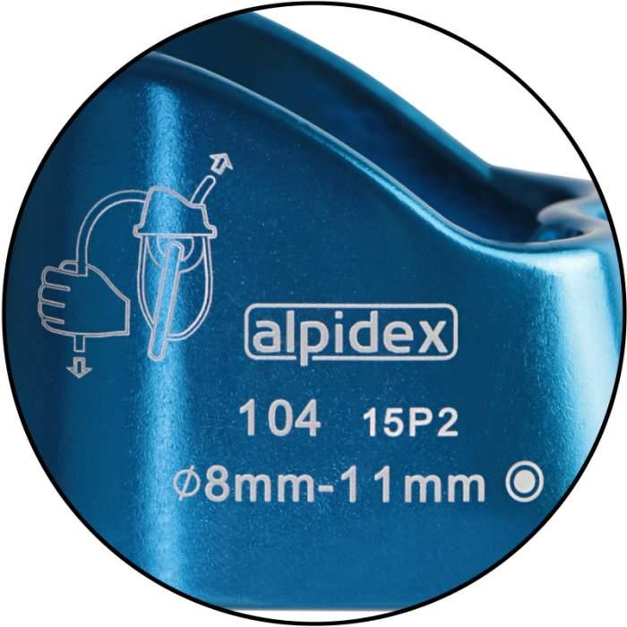 Alpidex Silenos Belay Device