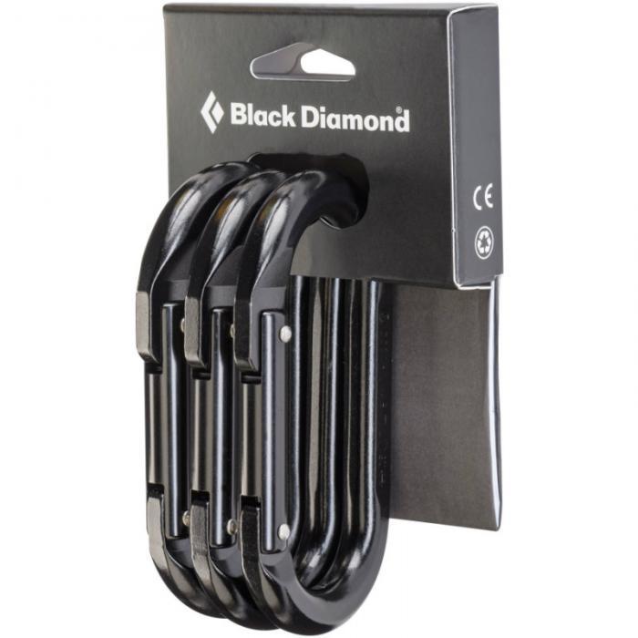 Black Diamond Oval 3 Pack