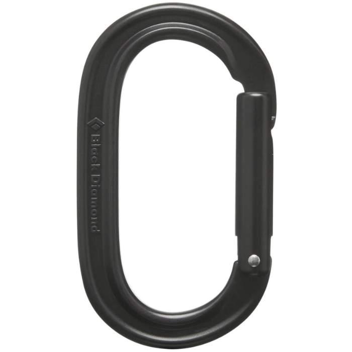 Black Diamond Oval Keylock Carabiner