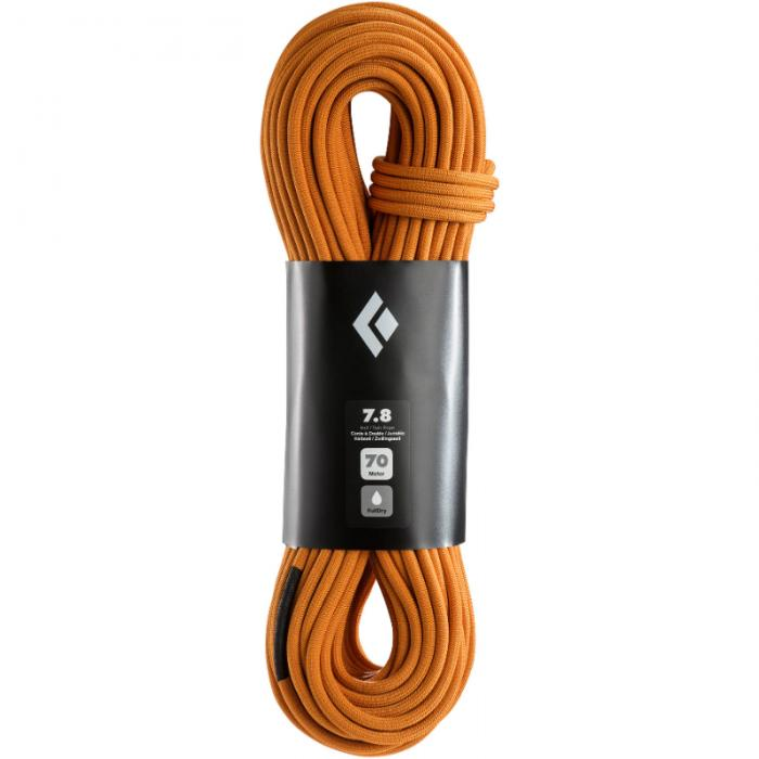 Black Diamond 7.8mm 70m 2xDry Rope