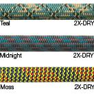New England Ropes 9.9mm Glider 70m 2xDry
