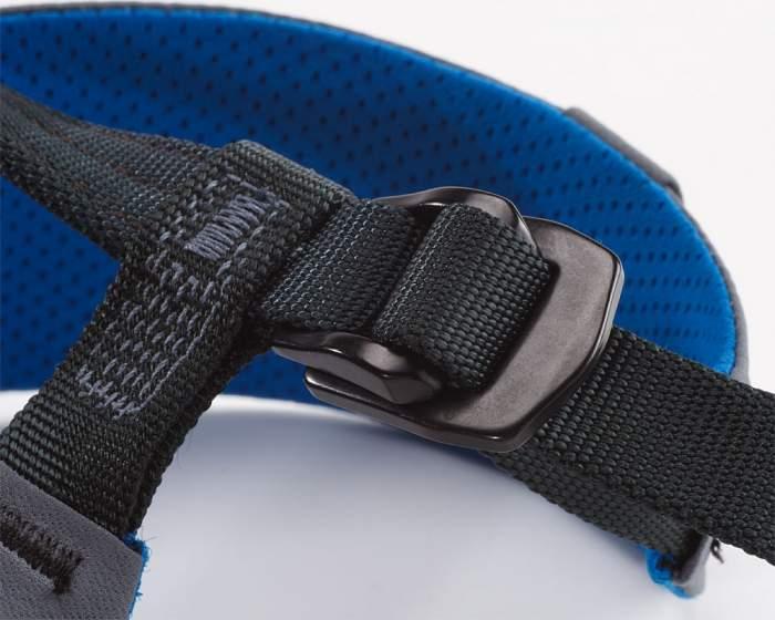 Arcteryx I340a climbing harness self locking buckle