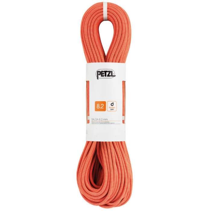 Petzl 8.2mm Salsa coral/orange