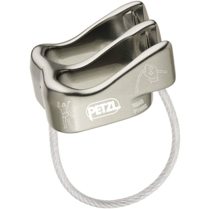 Petzl Verso Side Silver