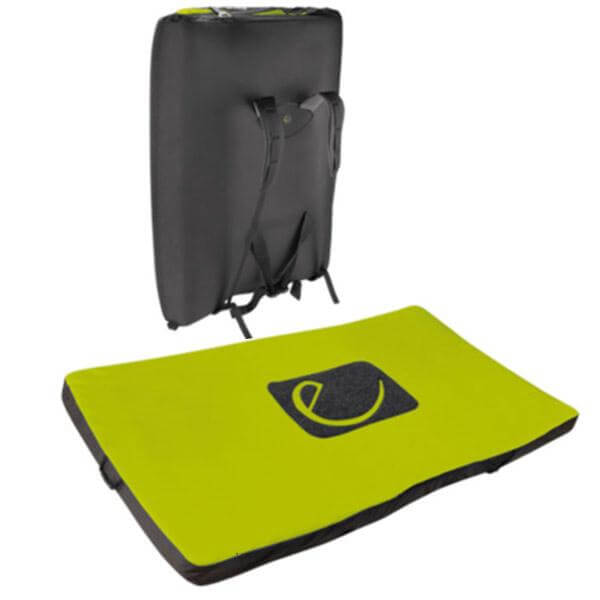 Edelrid Crux II Bouldering Pad Back and Open View