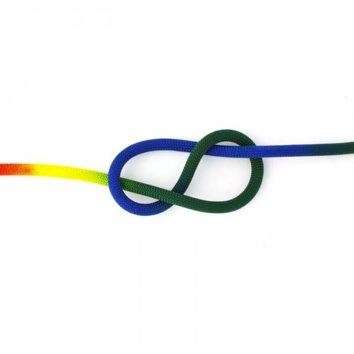 Roca 9.9mm Rainbow Rope Bite