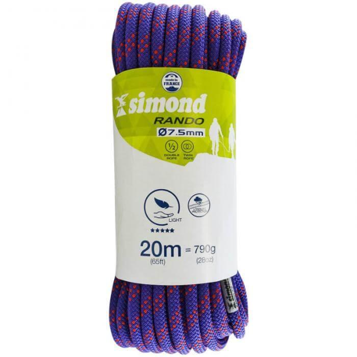 Simond 7.5mm Hiking 20m