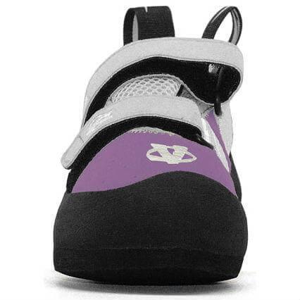 Evolv Elektra Violet Climbing Shoe Front