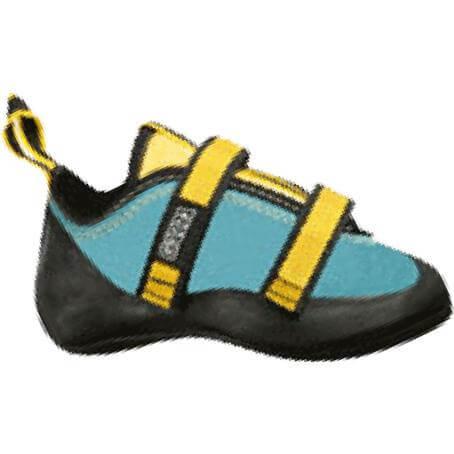 Garra Comic Velcro JR Climbing Shoe