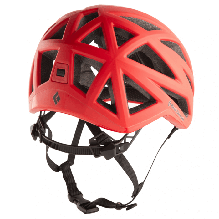 Black Diamond Vapor Climbing Helmet Red Back