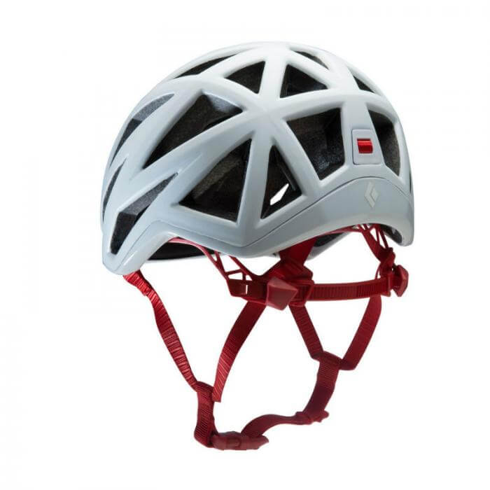 Black Diamond Vapor Climbing Helmet White Back
