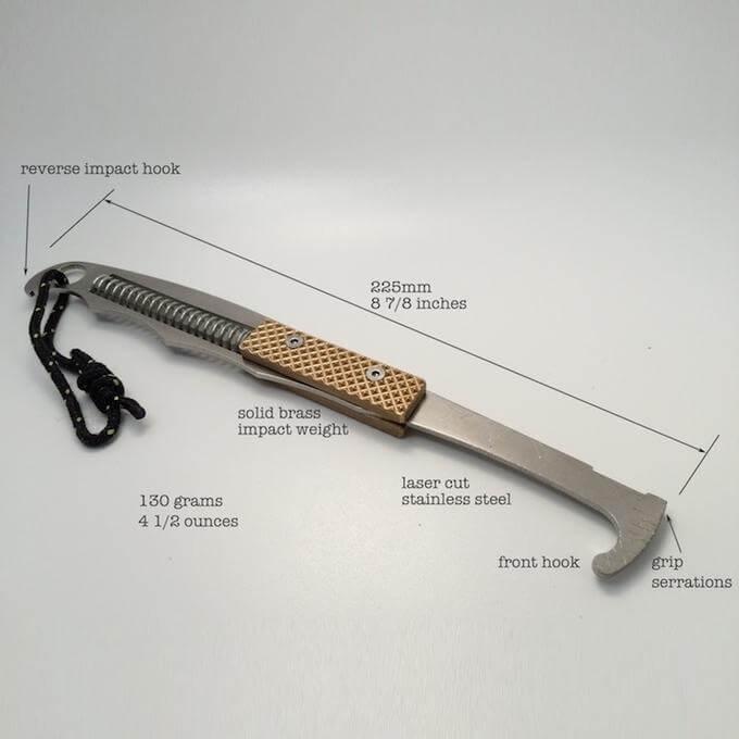 Climb Design LittleHammer Nut Tool