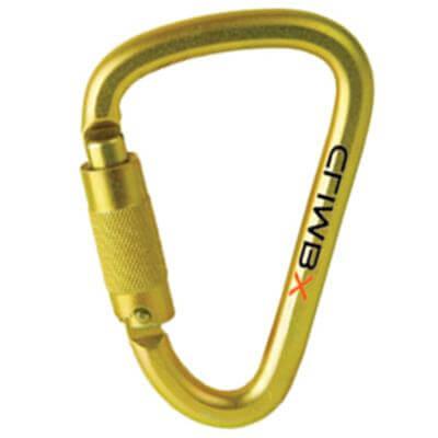 Climb X XL Steel D Twist Lock Carabiner