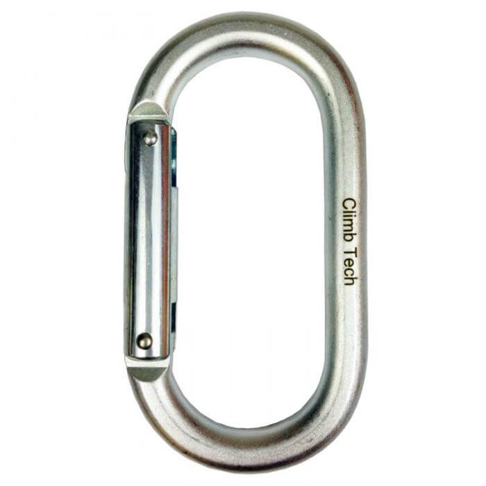 Climb Tech Steel Oval Non Locking