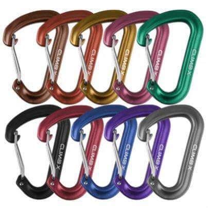 Climb X Mini Racker Carabiners