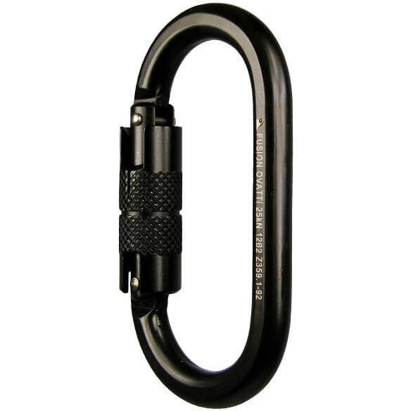 Fusion Ovatti Auto Lock Black