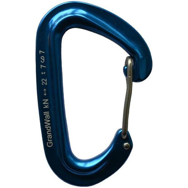 GrandWall Papoose Carabiner Blue