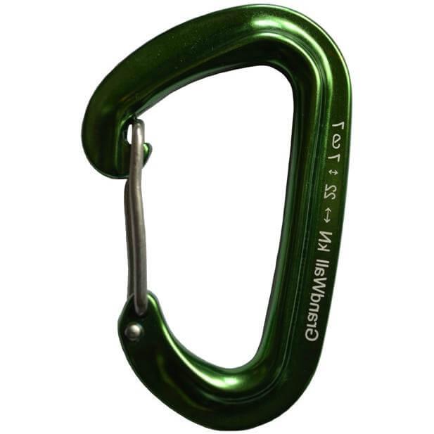 GrandWall Papoose Carabiner Green