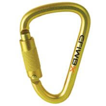 Climb X XL Steel D Twist Lock Carabiner