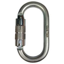 Climb Tech Double Action Locking Steel Oval