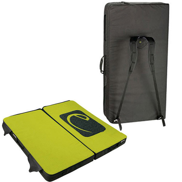 Edelrid Mantle II Bouldering Pad Back and Open View