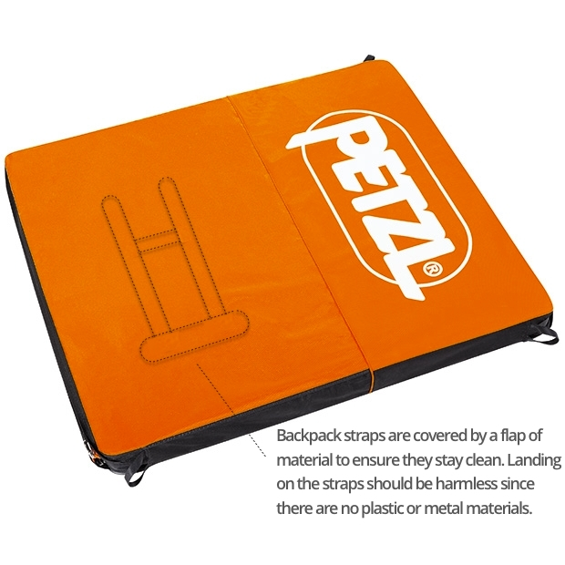 Petzl Cirro Crash Pad Backpack Straps