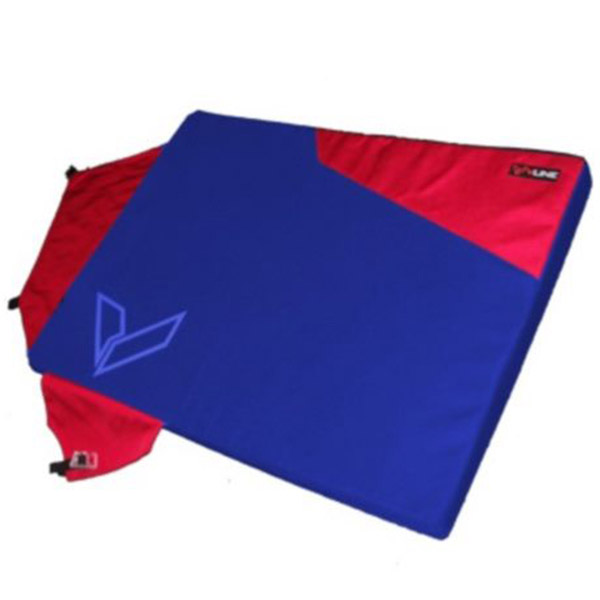 Vline Ally Pad Red and Blue Full Open View