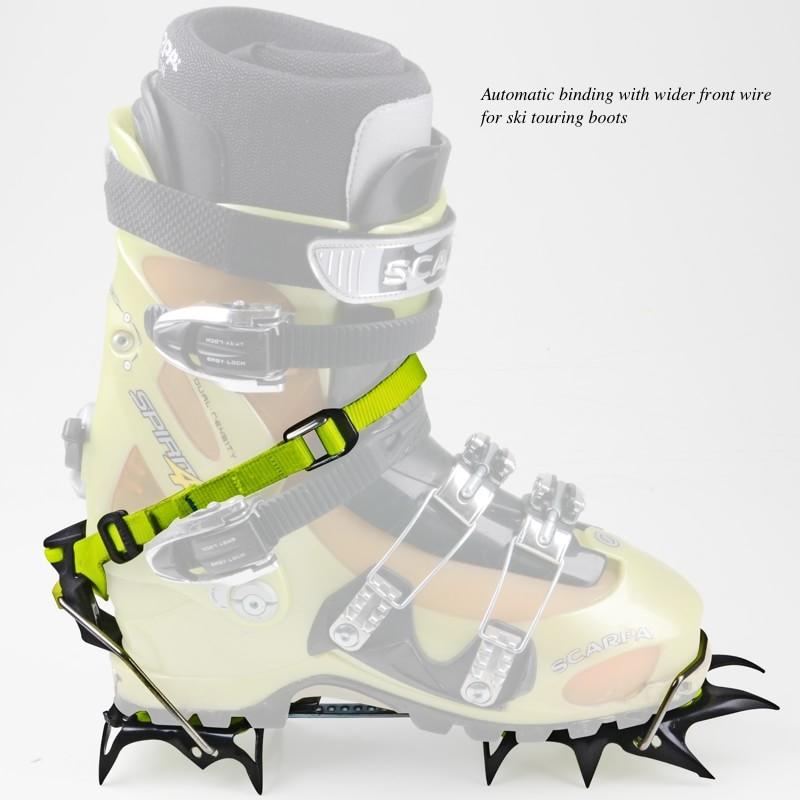 Edelrid Shark Crampon Ski Boot, Wire bail Option 2