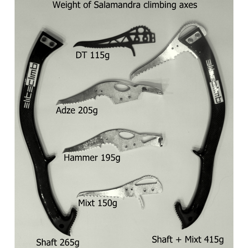 Elite Climb Shaft and Pick Weight