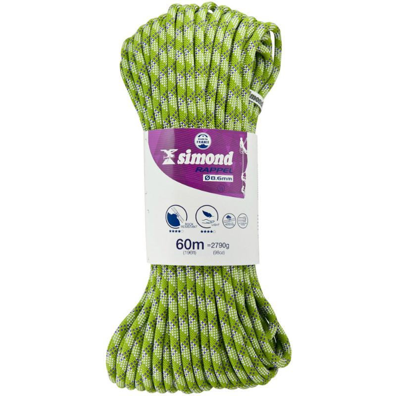 Simond 8.6mm Double Rope 60m