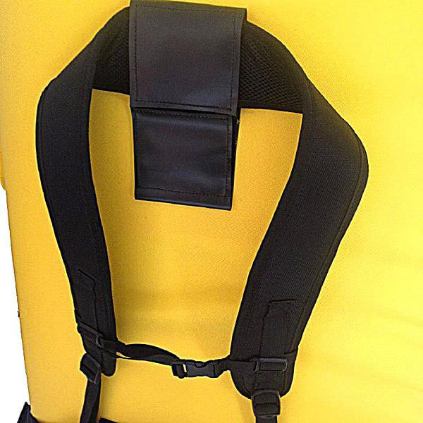 Asana Gunther Superhighball Pad Backpack Strap View