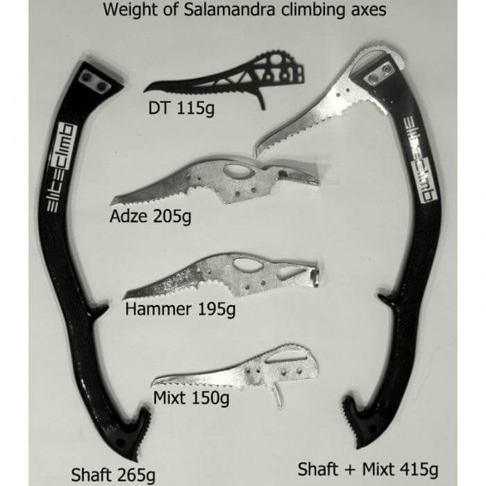 Elite Climb Shaft and Pick Weight