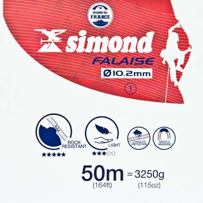 Simond 10.2mm Outdoor Rope 50m
