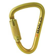 Climb X XL Steel D Triple Lock Carabiner